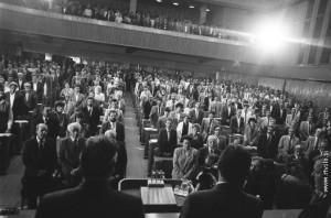 Proglasenje rezultata referenduma u slovenackoj skupstini