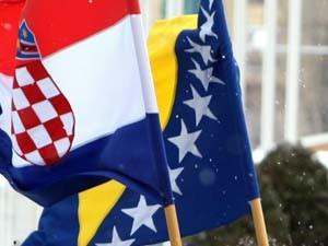 bosna hrvatska zastave