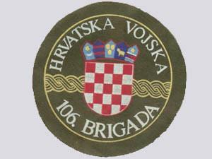 106 brigada HV
