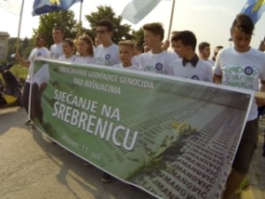 Remembering Srebrenica in Prizren