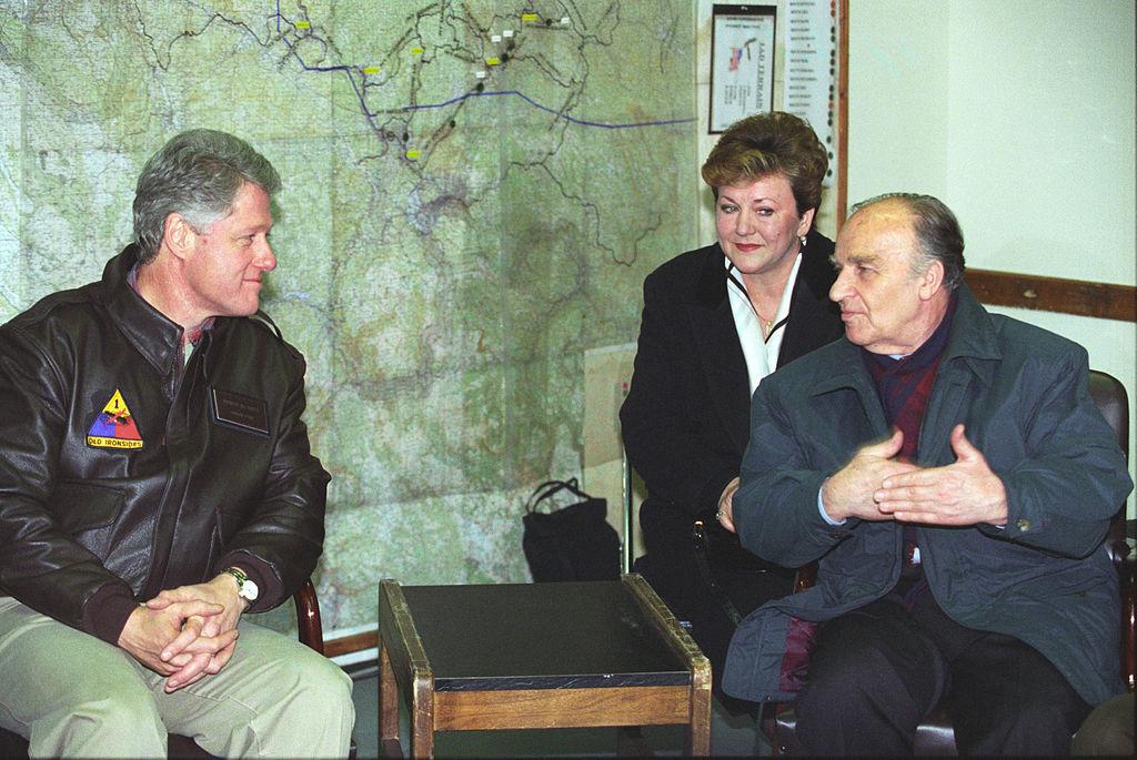 Alija i Clinton